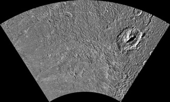 Click here for larger version of PIA12827 Unlabeled Evander Terrain Section