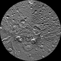 Click here for larger version of PIA12827 Unlabeled Dione Terrain Section