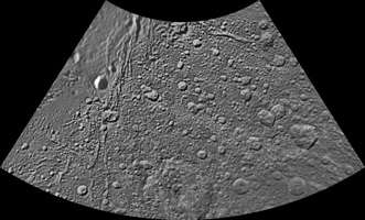 Click here for larger version of PIA12827 Unlabeled Aeneas Terrain Section