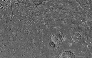 Click here for larger version of PIA12827 Unlabeled Romulus Terrain Section