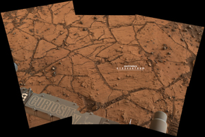 Sedimenter på Mars-plateuet