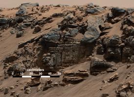 Klipper på Mars