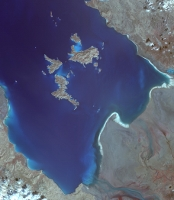 Lake Urmia, 2014 for PIA20637