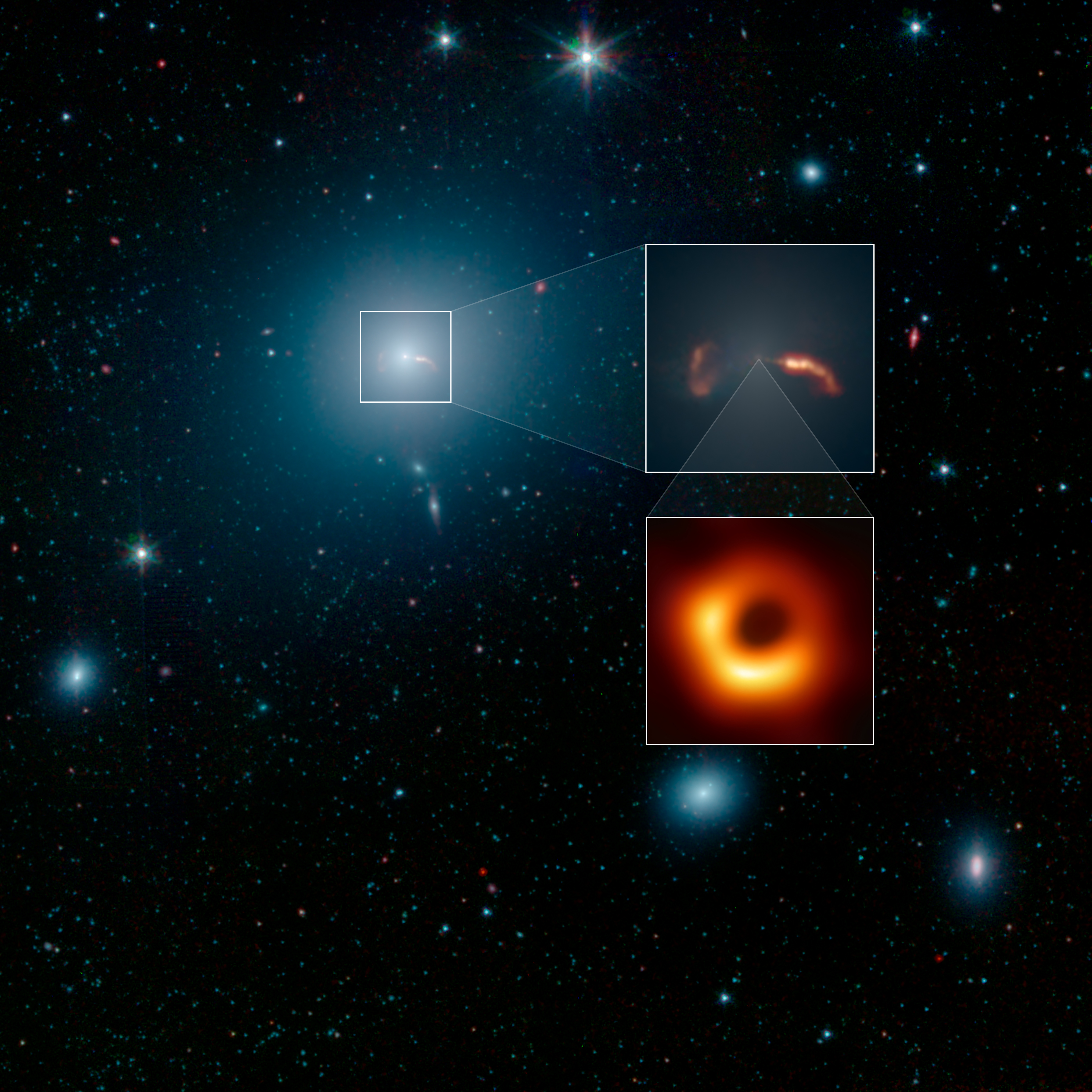 pictures of black hole outerspace
