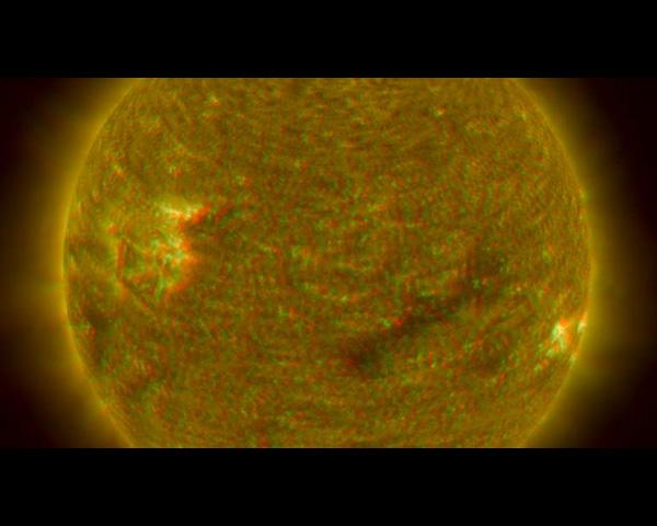 NASA's Solar TErrestrial RElations Observatory satellites have provided the first 3-dimensional images of the Sun. This view will aid scientists' ability to understand solar physics to improve space weather forecasting.