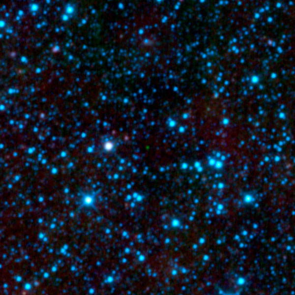 Cool brown dwarf spotted by WISE