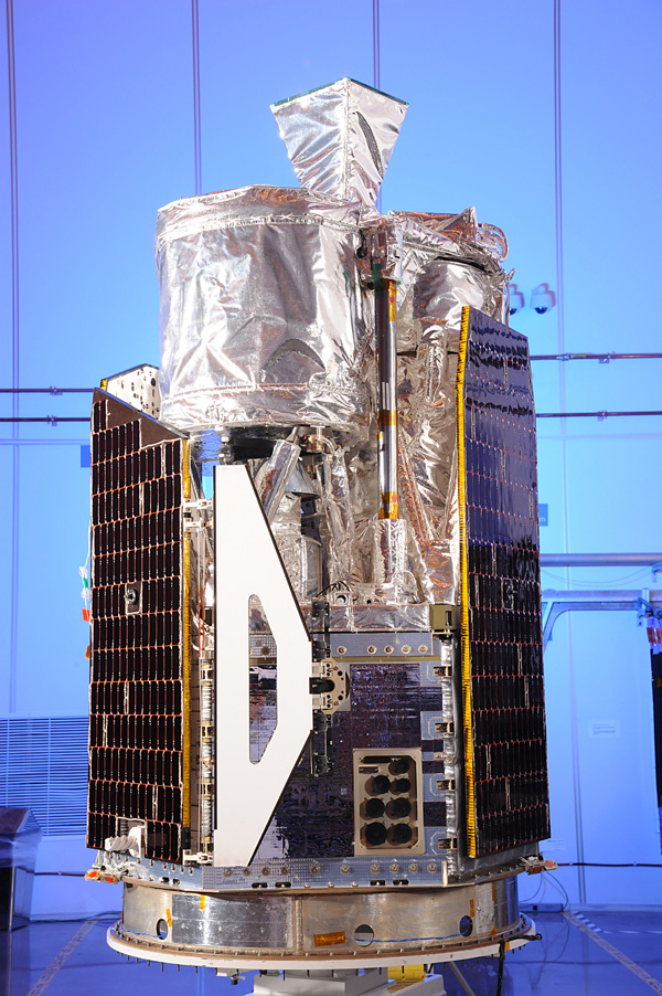 NASA's Nuclear Spectroscopic Telescope Array, or NuSTAR, at Orbital Sciences Corporation in Dulles, Va., January 2012.