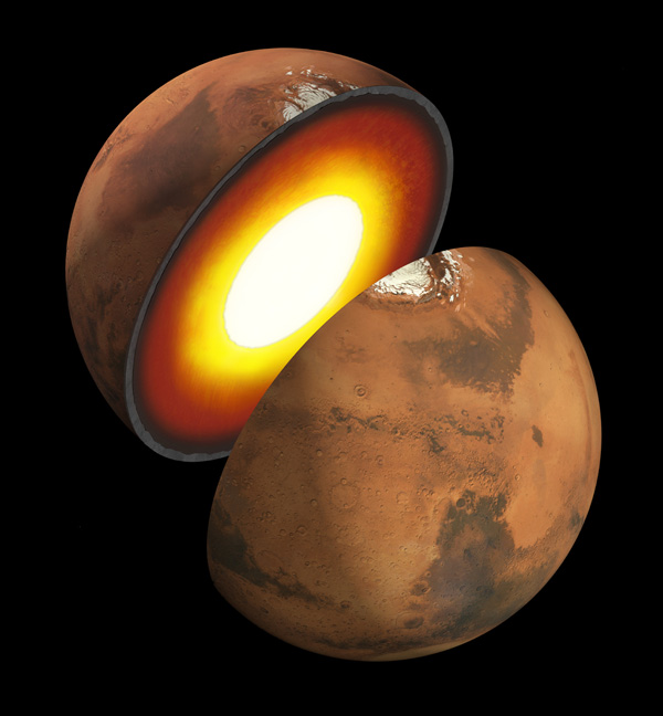 Artist rendition of the formation of rocky bodies in the solar system -- how they form and differentiate and evolve into terrestrial planets.