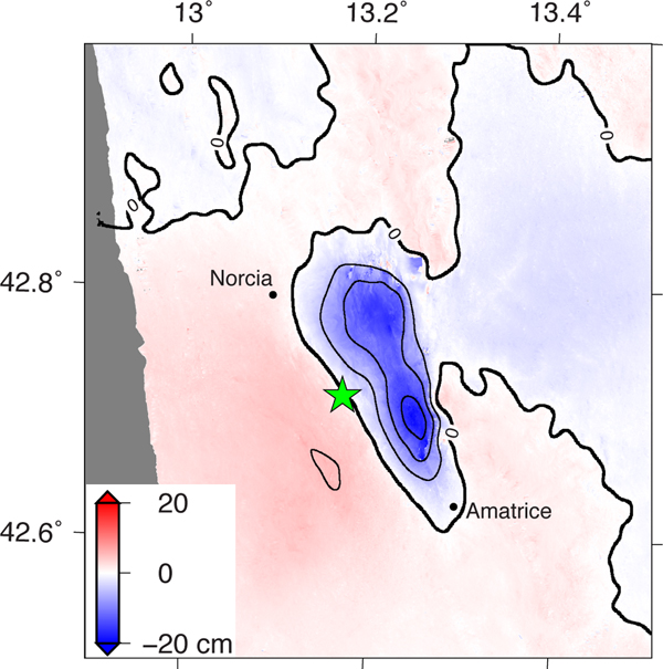 NASA and its partners are contributing observations and expertise to the ongoing response to the Aug. 23, 2016, magnitude 6.2 Amatrice earthquake in central Italy caused widespread building damage to several towns throughout the region.