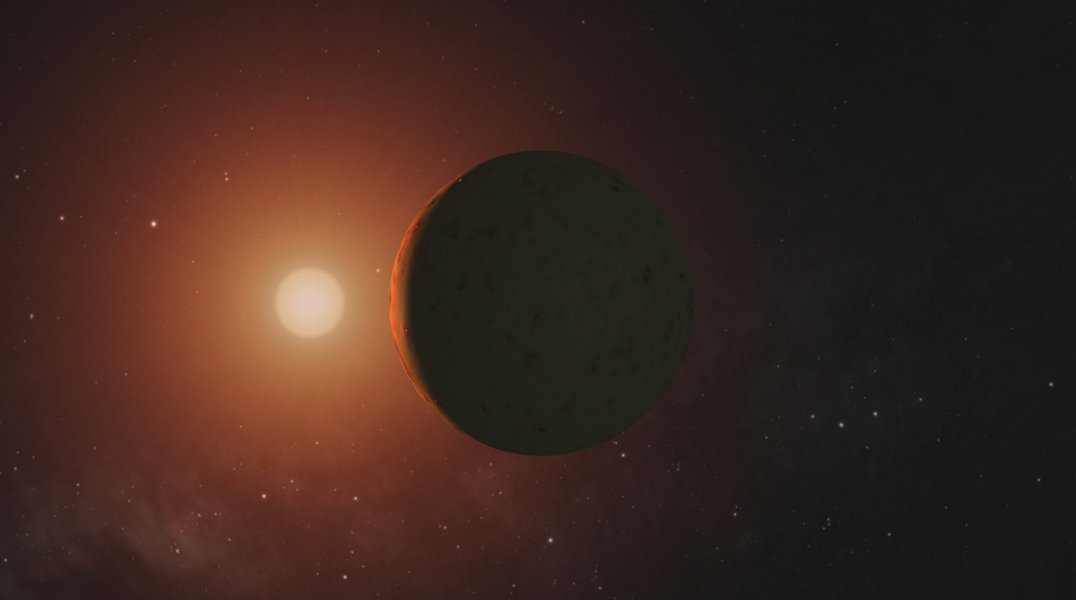 This frame from a video depicts artist's concepts of each of the seven planets orbiting TRAPPIST-1, an ultra-cool dwarf star. Over 21 days.