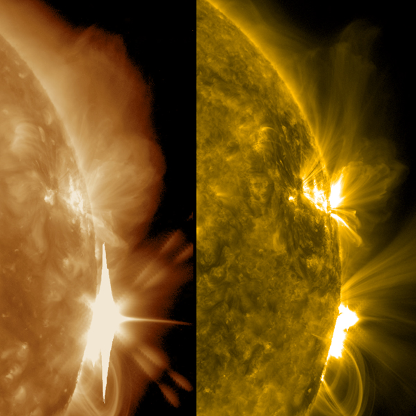 On Sept. 10, 2017, NASA's Solar Dynamics Observatory, observed the Sun erupting with an X8 solar flare, one of the largest of the current solar cycle.