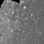 The Kuiper Quadrangle was named in memory of Dr. Gerard Kuiper, an imaging team member, and well-known astronomer, of NASA's Mariner 10 Venus/Mercury. The Kuiper crater is seen left of center in this image.