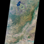 Zambia, the Democratic Republic of the Congo, Mozambique, and Zimbabwe are shown in this MISR Mystery Quiz #20 captured by NASA's Terra spacecraft.