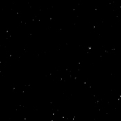 Stars in the upper portion of the constellation Orion the Hunter, including the bright shoulder star Betelgeuse and Orion's three-star belt, appear in this image taken from the surface of Mars by the panoramic camera on NASA's rover Spirit.