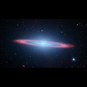 NASA's Spitzer Space Telescope set its infrared eyes on one of the most famous objects in the sky, Messier 104, also called the Sombrero galaxy.