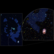 The unique ultraviolet vision of NASA's Galaxy Evolution Explorer revealed, for the first time, dwarf galaxies forming out of nothing more than pristine gas likely leftover from the early universe.