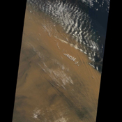 Powerful winds and dry conditions caused a massive blanket of dust from Australia's Outback to spread eastward across Queensland and New South Wales. This image was acquired on September 22, 2009 by NASA's Terra spacecraft.