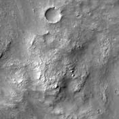 The dunes in this image taken by NASA's 2001 Mars Odyssey spacecraft are located on the floor of Herschel Crater.