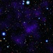 NASA's Spitzer Space Telescope contributed to the infrared component of the observations of a surprisingly large collections of galaxies (red dots in center). Shorter-wavelength infrared and visible data are provided by Japan's Subaru telescope.