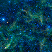 Star clusters such as the Pleiades are often considered some of the most beautiful objects in the sky. This image of the star cluster NGC 2259 is from NASA's Wide-field Infrared Survey Explorer.