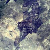 This image, acquired by NASA's Terra spacecraft on May 1, 2011, shows more than 314,000 acres burned in west Texas. The 2011 fire season in Texas is of historic proportions.