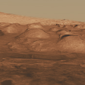 Mars scientists have several important hypotheses about how these minerals may reflect changes in the amount of water on the surface of Mars. The Mars Science Laboratory rover, Curiosity, will use its full suite of instruments to study these minerals.