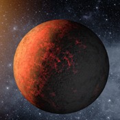 Kepler-20e is the first planet smaller than the Earth discovered to orbit a star other than the sun. A year on Kepler-20e only lasts 6 days, as it is much closer to its host star than the Earth is to the sun.