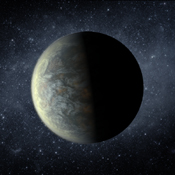 Kepler-20f is the closest object to the Earth in terms of size ever discovered. With an orbital period of 20 days and a surface temperature of 800 degrees Fahrenheit (430 degrees Celsius), it is too hot to host life, as we know it.