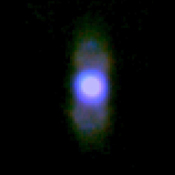 Researchers using NASA's Stratospheric Observatory for Infrared Astronomy (SOFIA) have captured infrared images of the last exhalations of a dying sun-like star. This image is of the planetary Nebula M2-9.