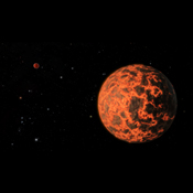 Astronomers using NASA's Spitzer Space Telescope have detected what they believe is an alien world just two-thirds the size of Earth -- one of the smallest on record.