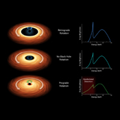 Black holes are tremendous objects whose immense gravity can distort and twist space-time, the fabric that shapes our universe as this chart from NASA's NuSTAR and ESA's XMM-Newton telescope illustrates.