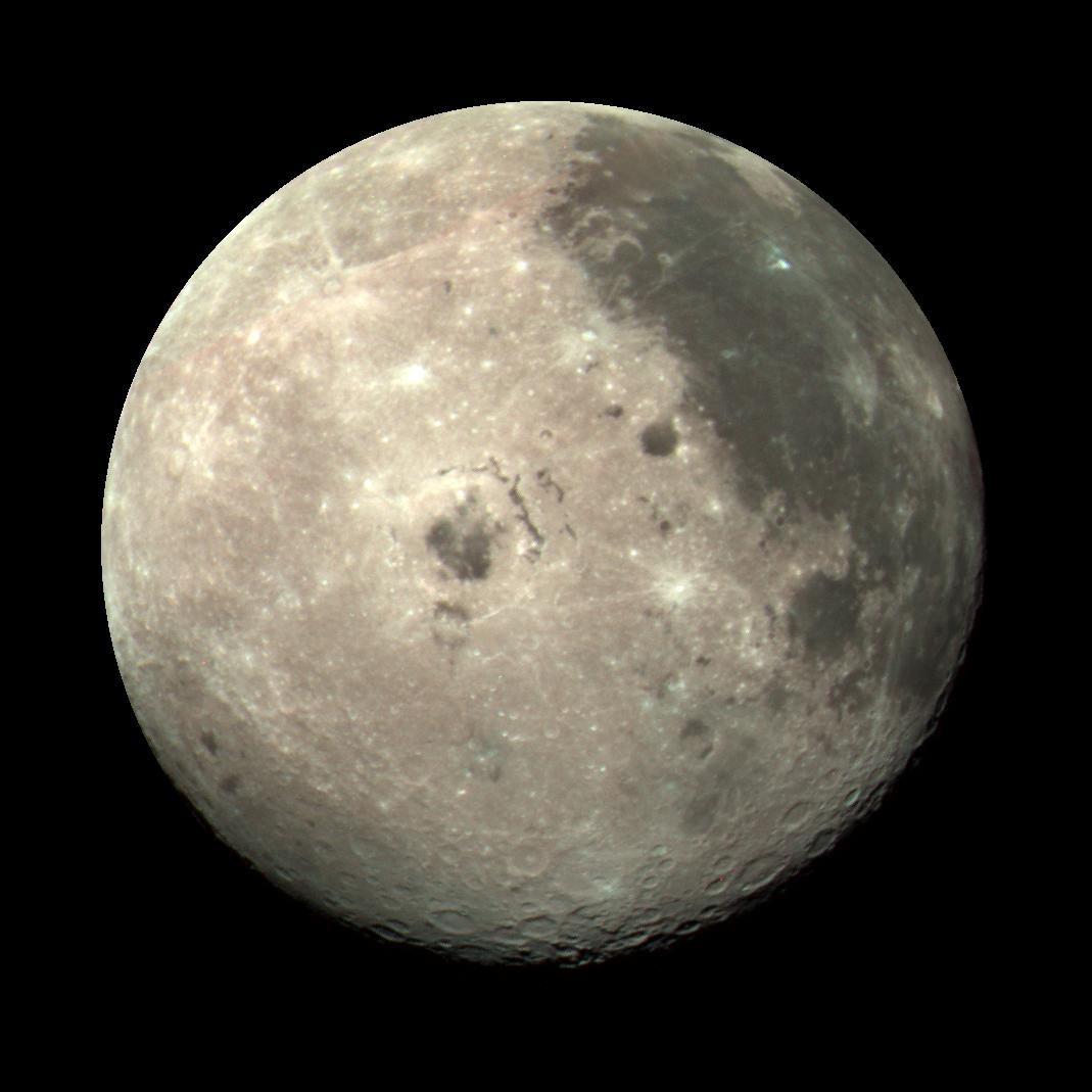 Space Images | Moon Color Composite