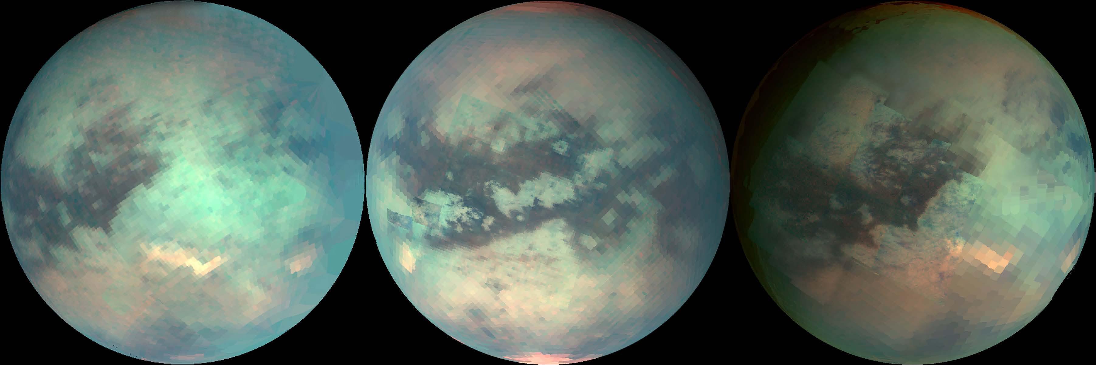 Older maps of Titan