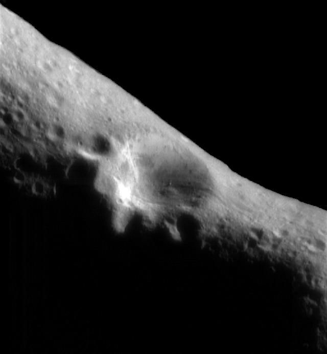 Space Images | NEAR Historic First Image from Eros Orbit