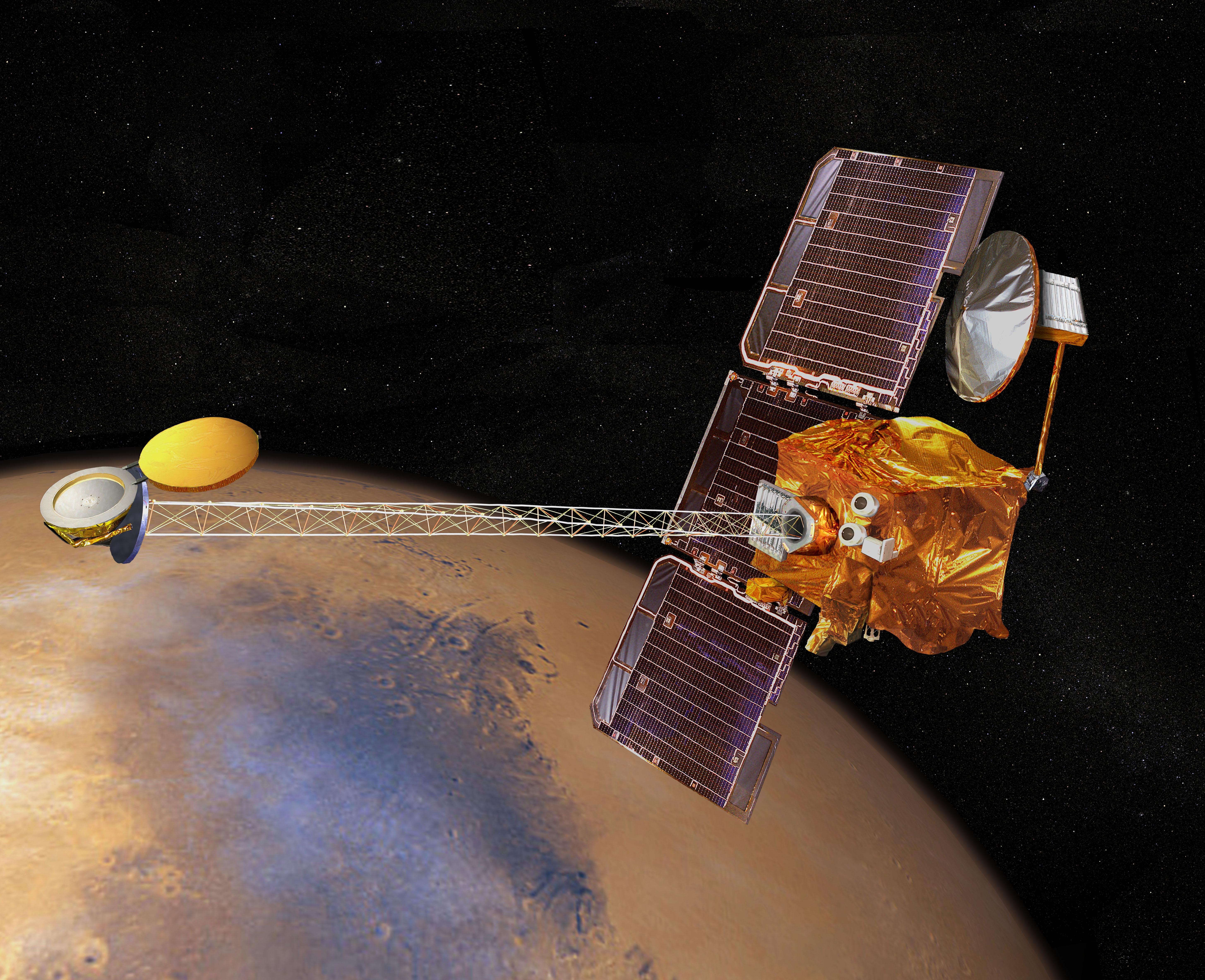 Artist's Concept of Mars Odyssey