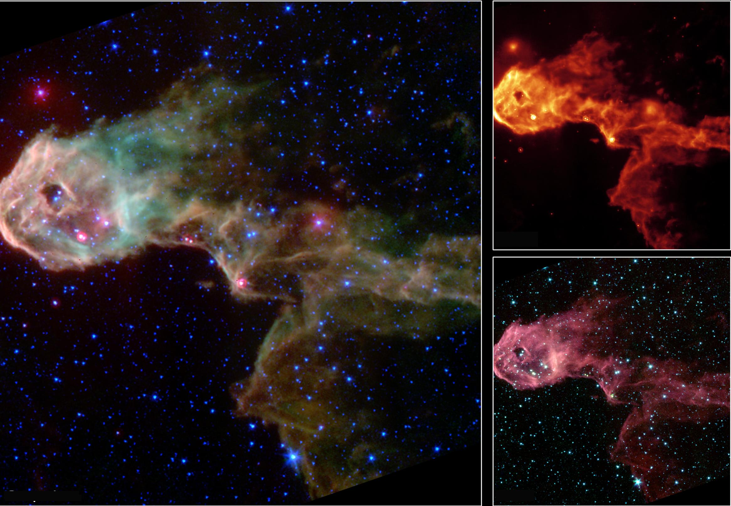 images nebula spitzer space - photo #14