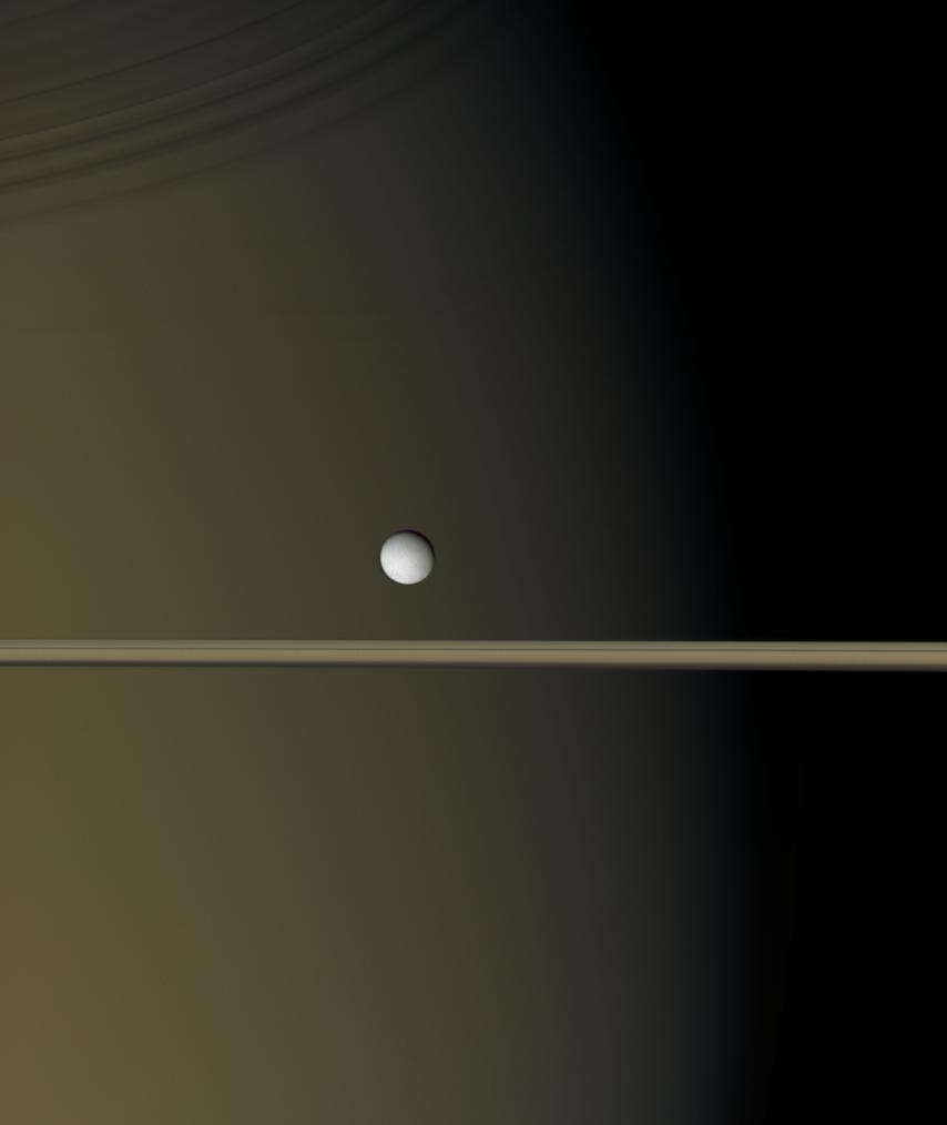 Saturn In Natural Colors Hi Res