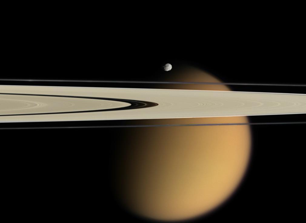 Saturne et Titan