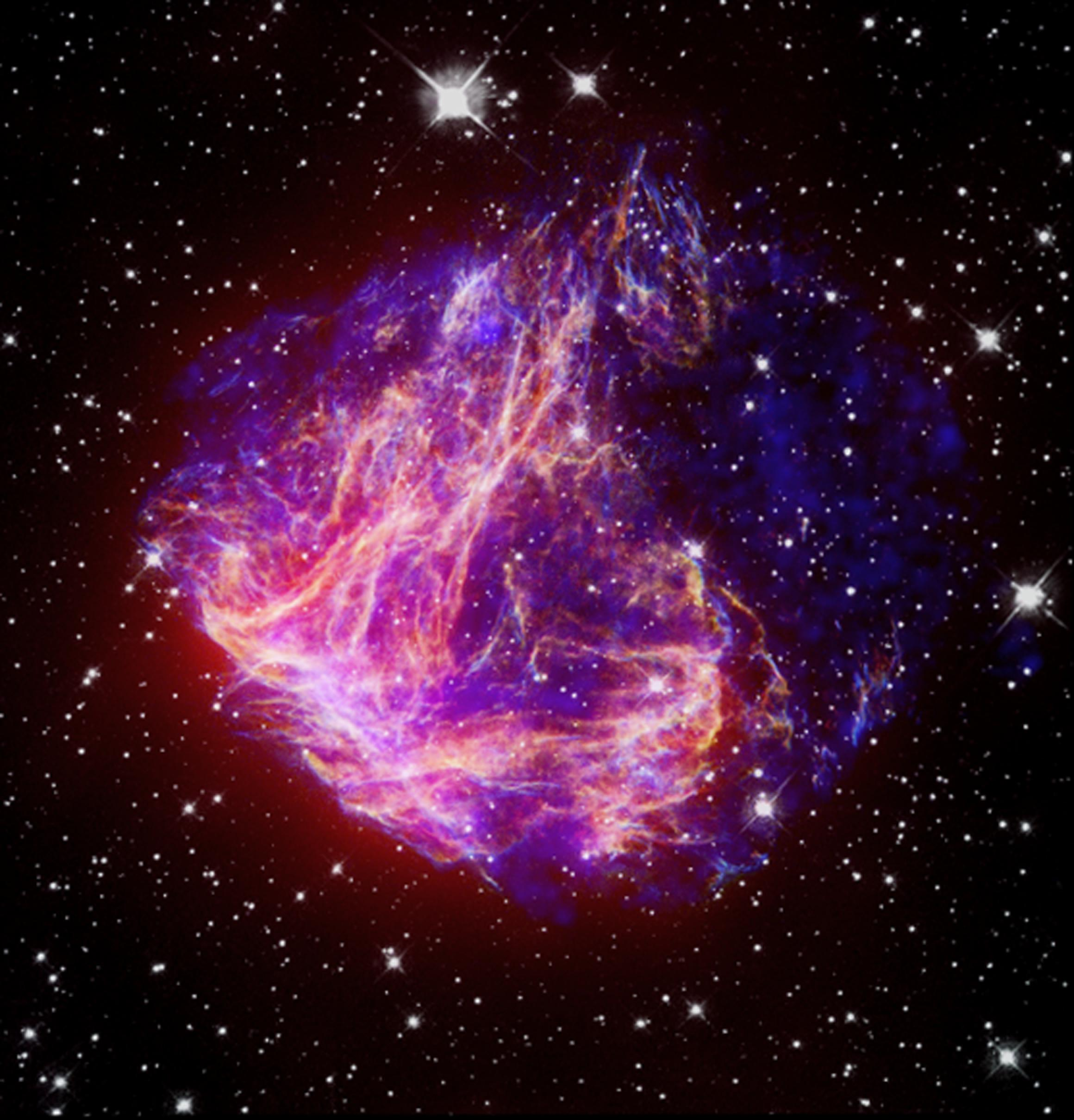 Space Images | Stellar Debris in the Large Magellanic Cloud