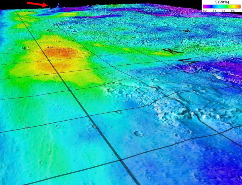 Nouvelles preuves de l'existence d'anciens océans sur Mars