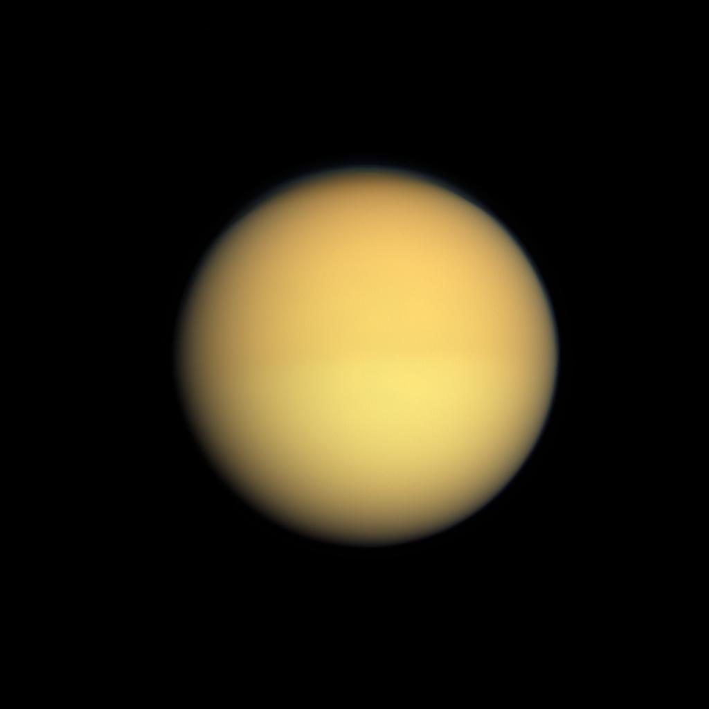 Image Of Titan Lights In The Dark