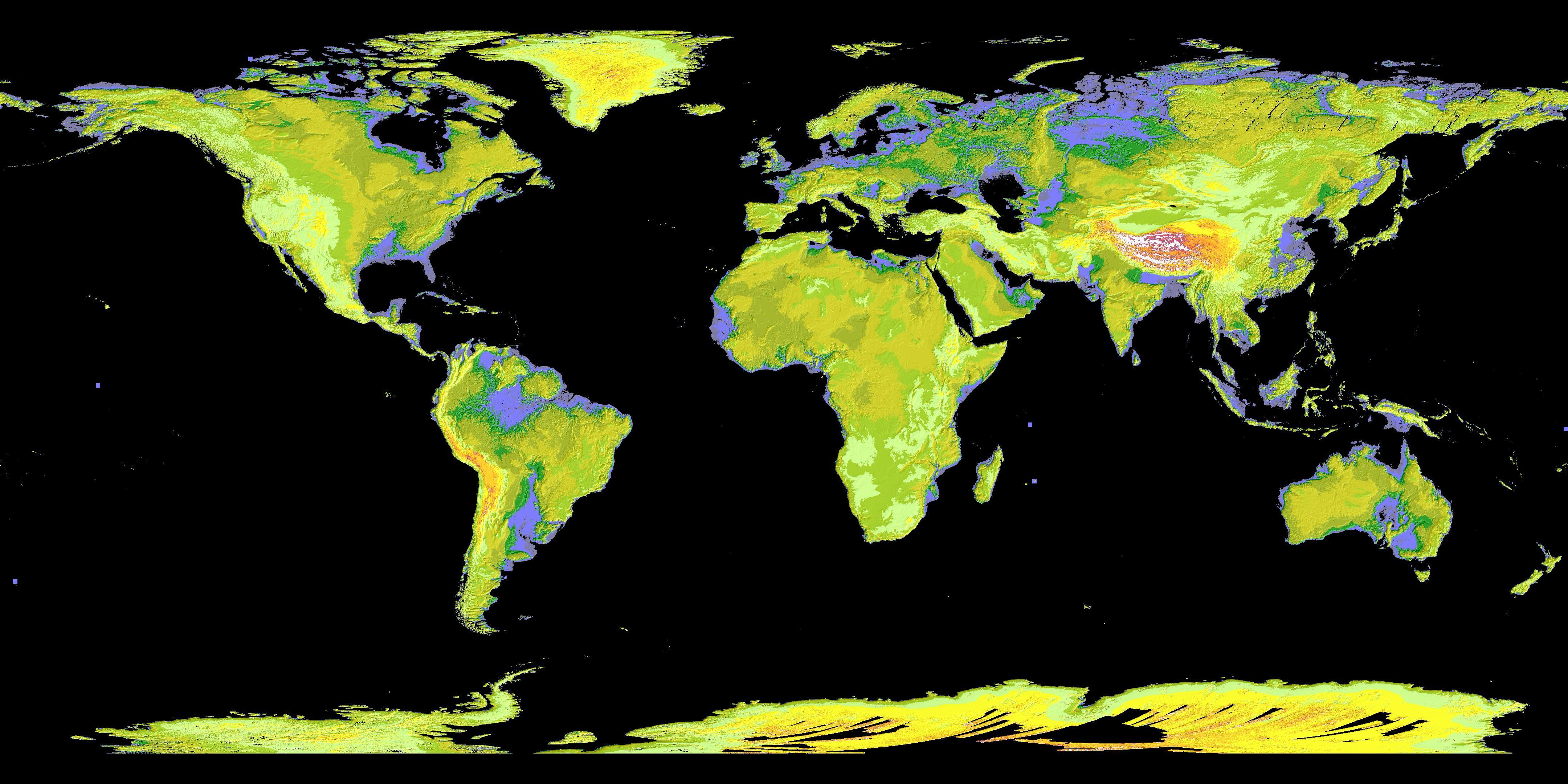 Space Images ASTER39s Global Digital Elevation