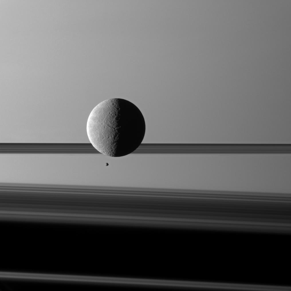 Space Images | Big and Small Before Rings