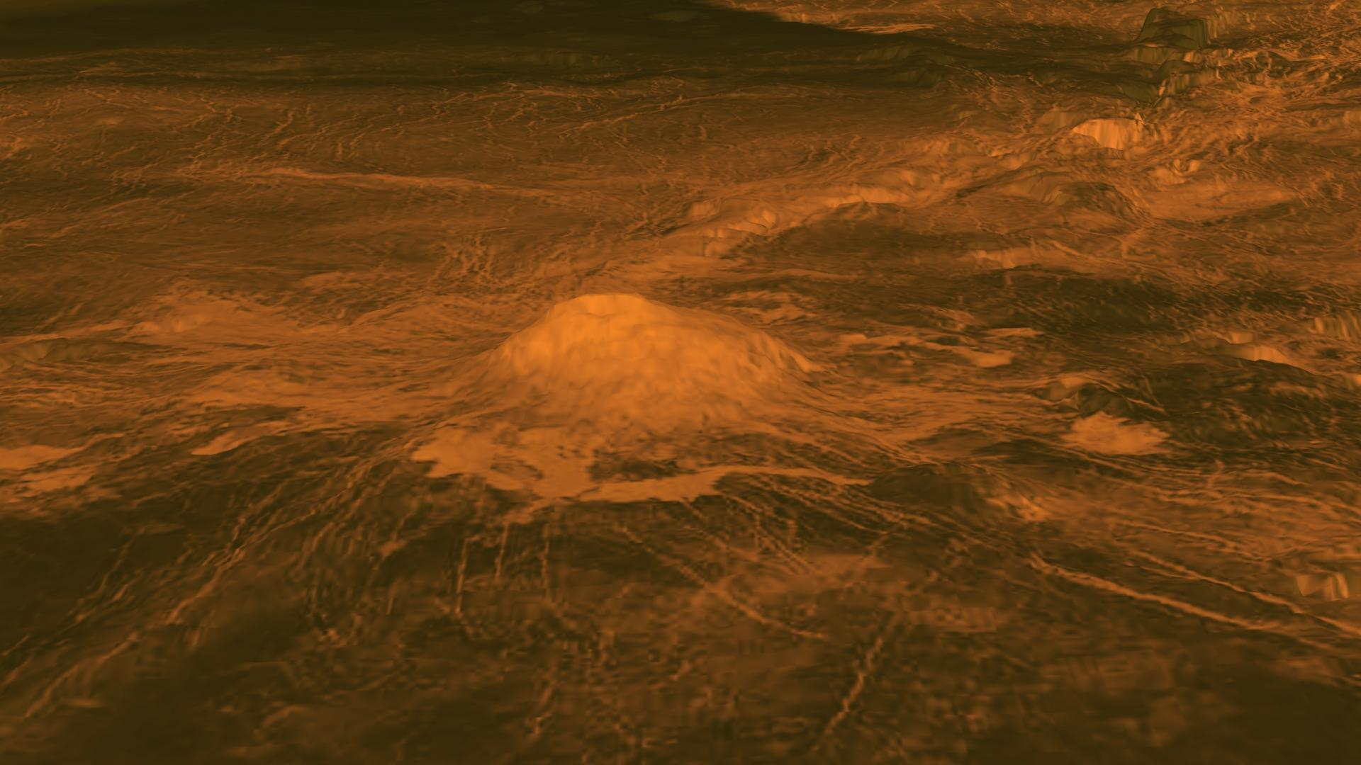 venus volcanoes nasa - photo #1