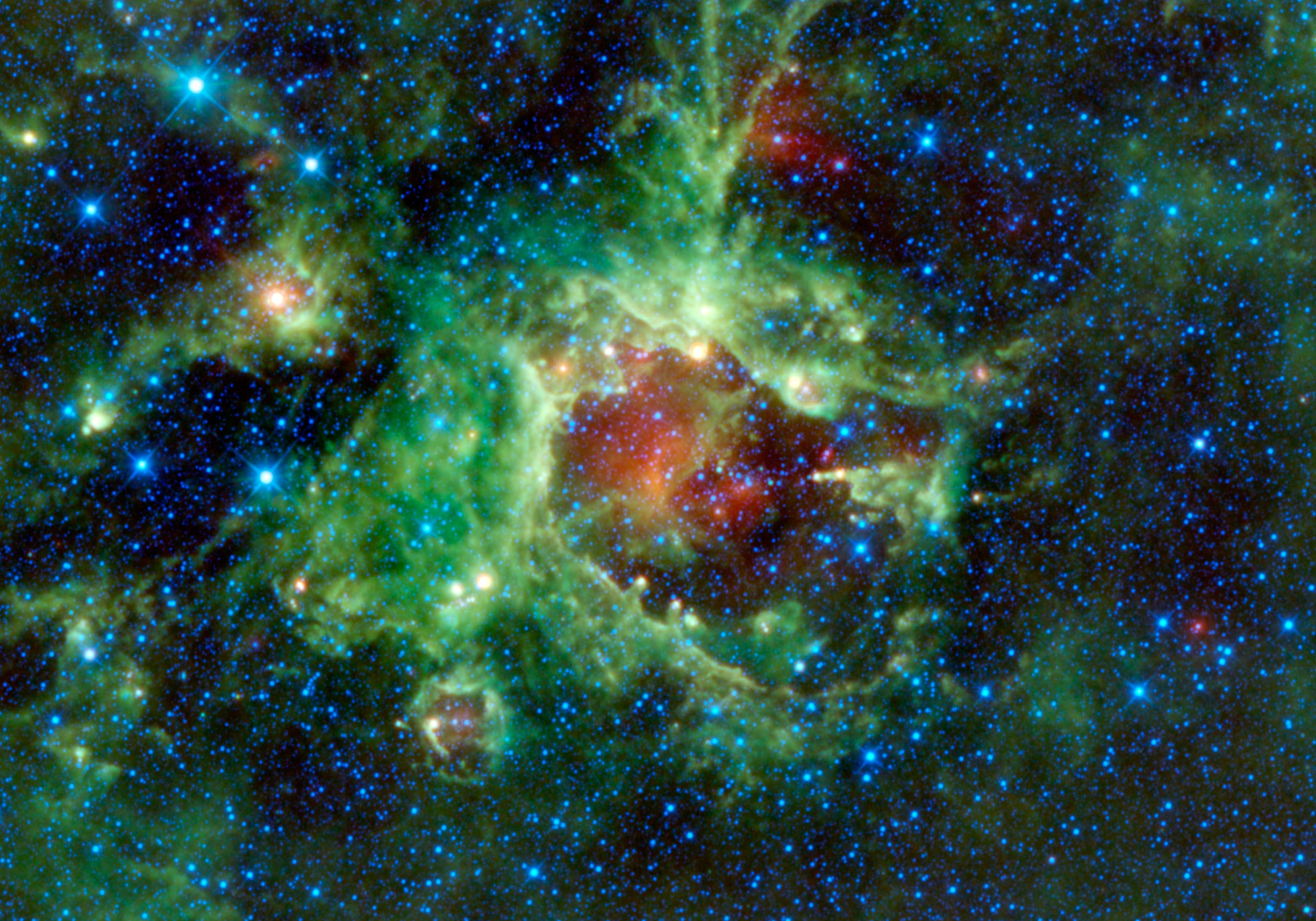 Space Images | Pointing a Finger at Star Formation