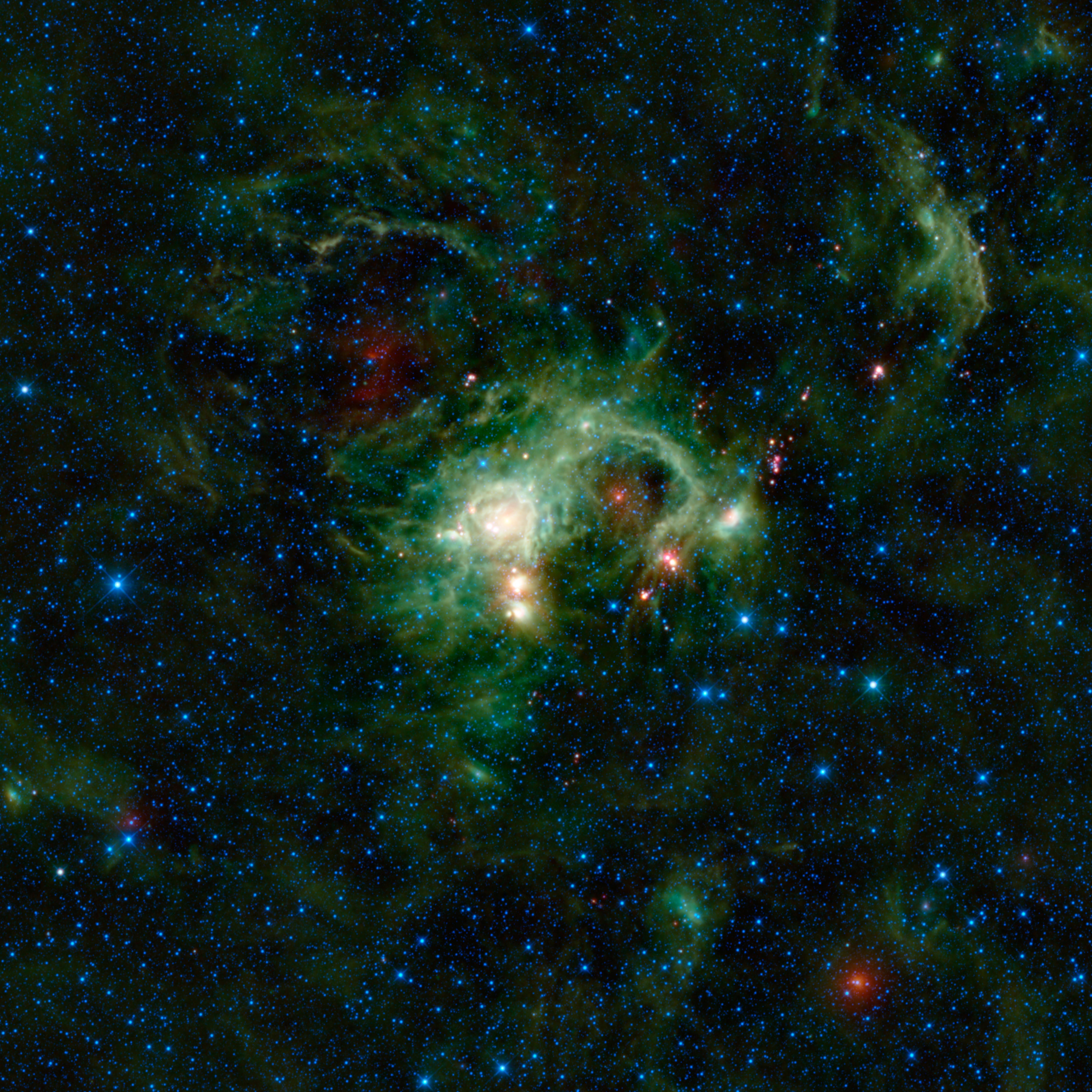 Space Images | WISE Eyes Evolution of Massive Stars