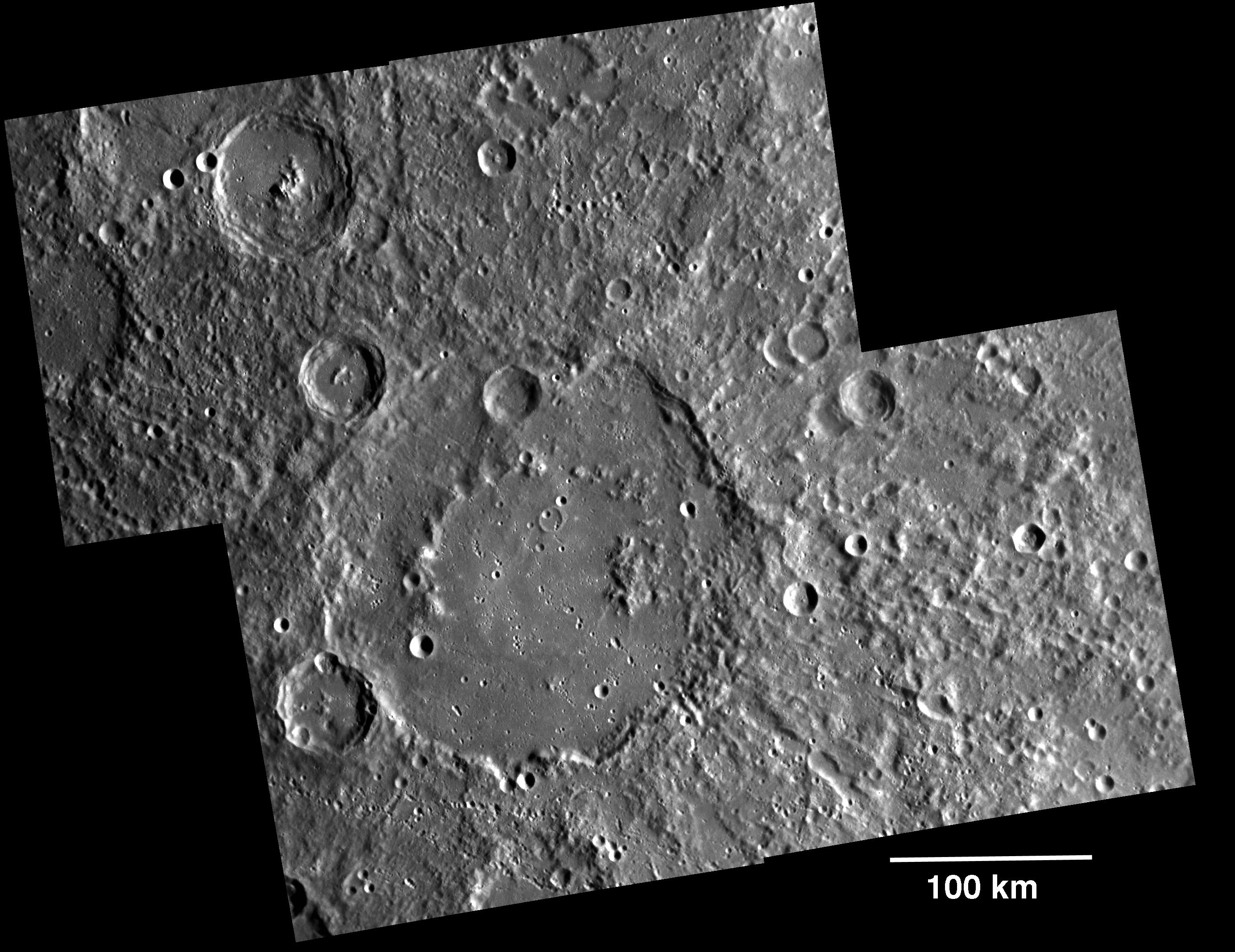 planetary names 15 millionscale maps of mercury - HD 2768×2135