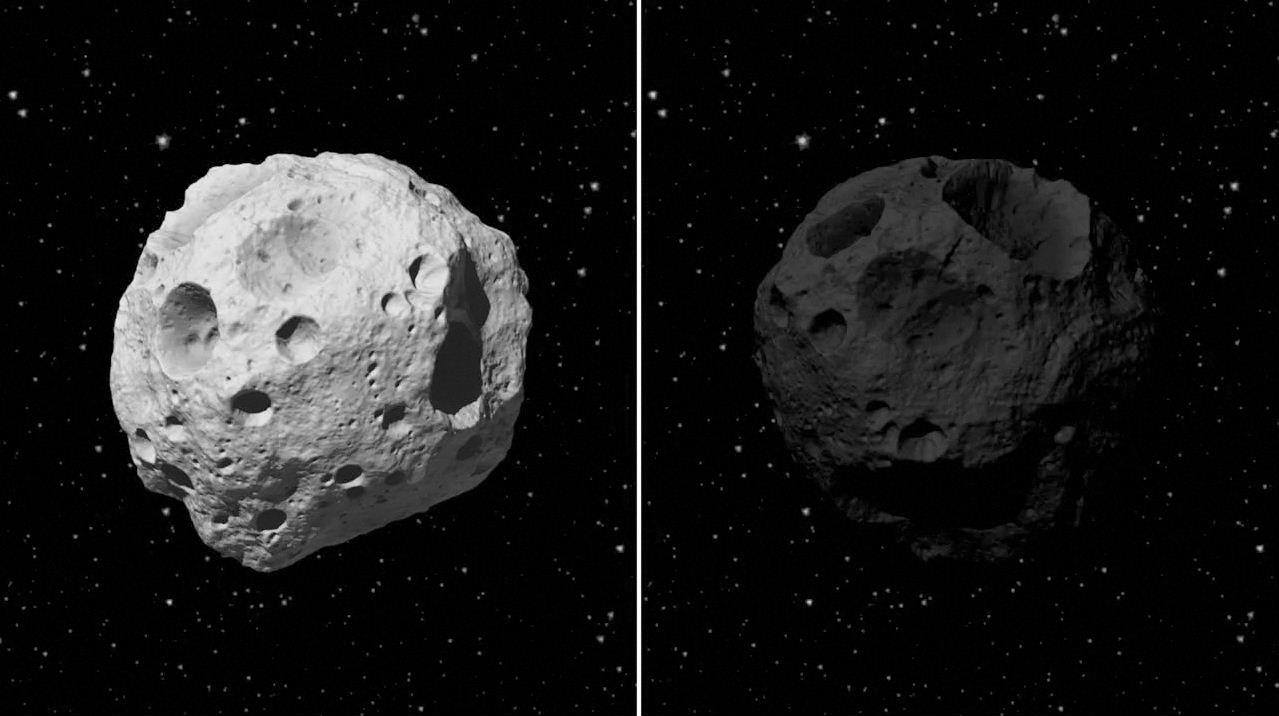Images Of Asteroid And Comets