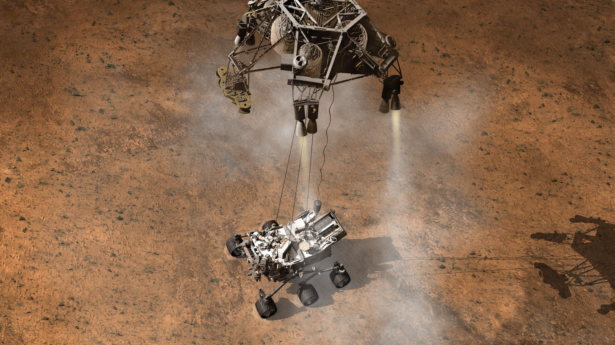 nasa curiosity landing - HD1500×800