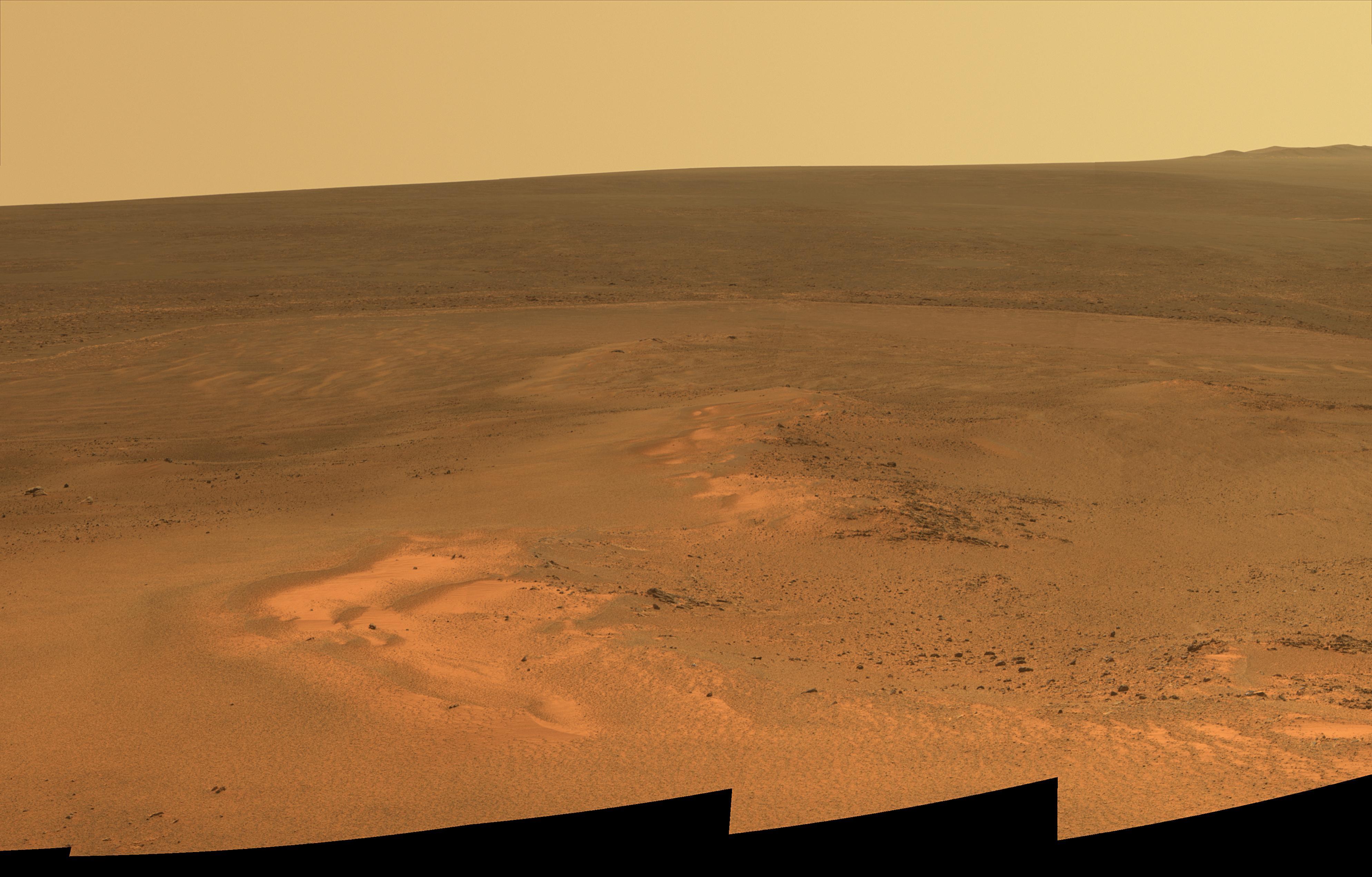 Mars landscape : space